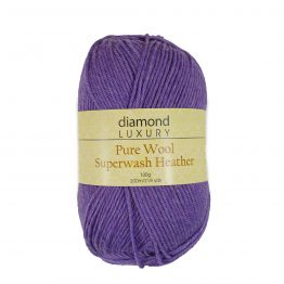 Pure Wool Superwash Heather